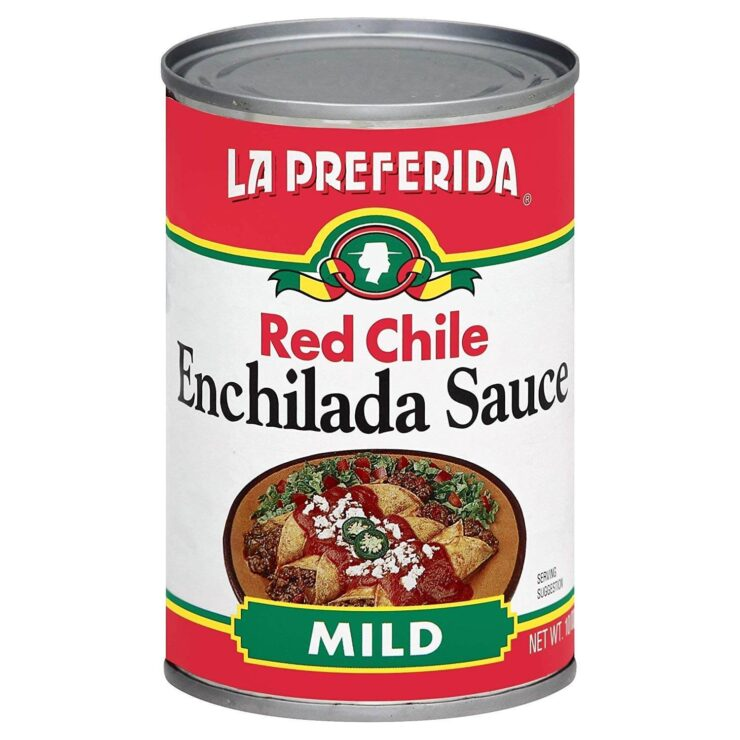 La Preferida Red Chile Enchilada Sauce - Mild