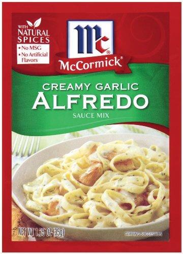 McCormick Pasta Sauce Blend - Creamy Garlic Alfredo