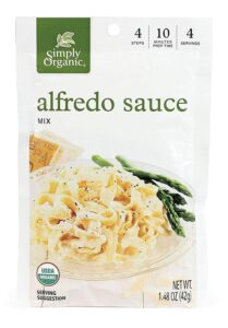 Simply Organic Alfredo Seasoning Mix