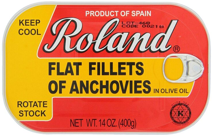 Roland Foods Anchovy Fillets in Olive Oil