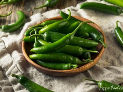 Substitutes for Serrano Peppers