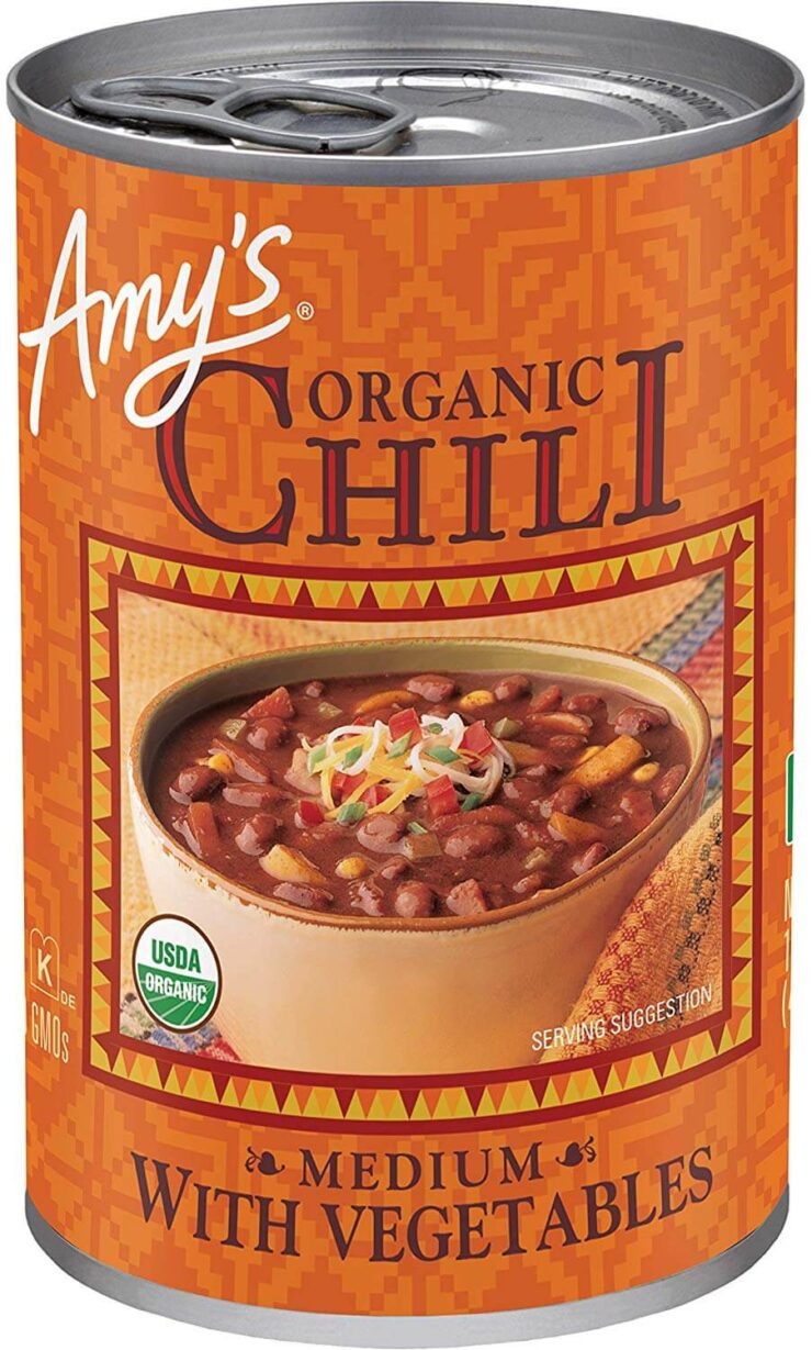 Amy's Organic Chili with Vegetables