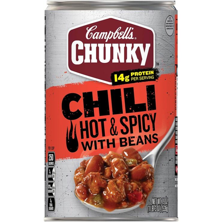 Campbell's Chunky Chili, Hot and Spicy Beef and Bean Firehouse