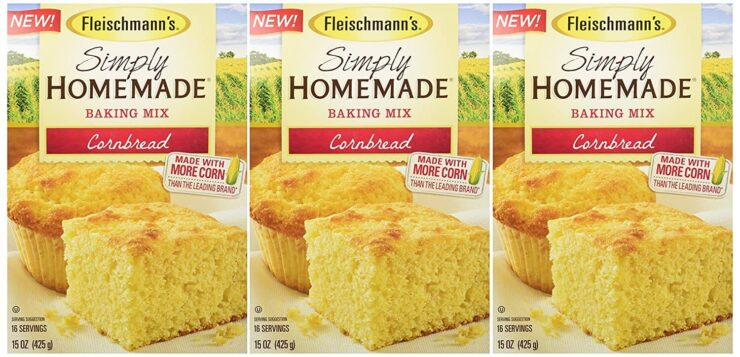 Fleischman's Simply Homemade Cornbread Mix