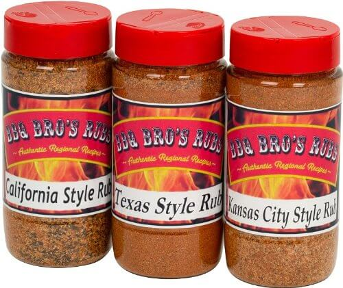 BBQ BROS RUBS - Ultimate Barbecue Spices Seasoning Set7