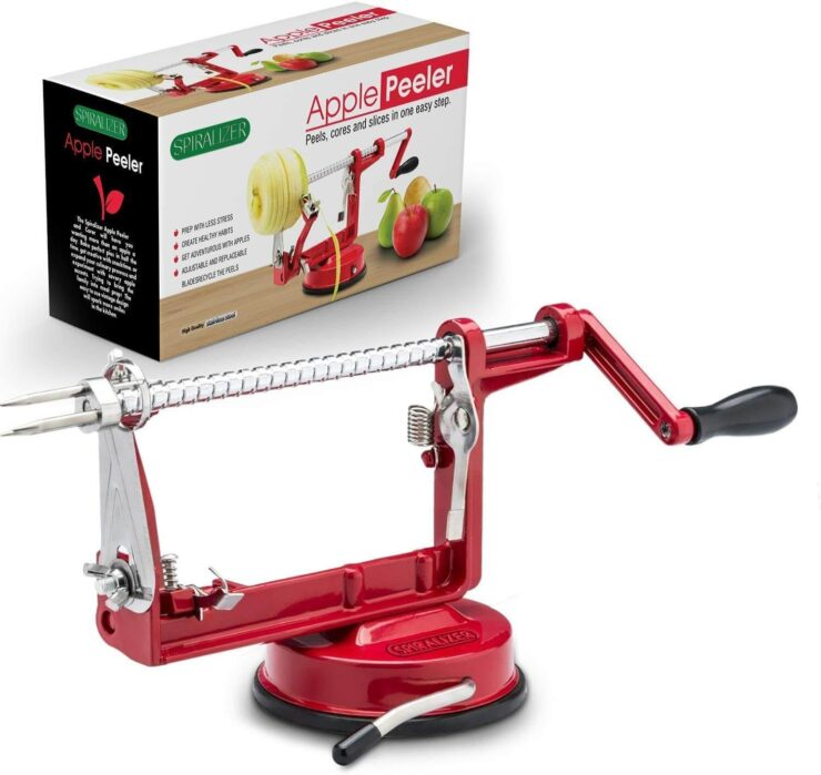 Cast Magnesium Apple Potato Peeler Corer by Spiralizer