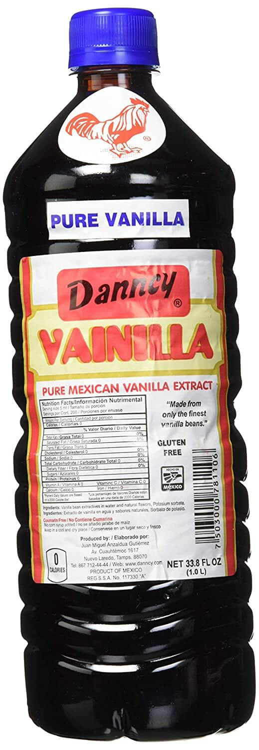 Danncy Dark Pure Mexican Vanilla Extract