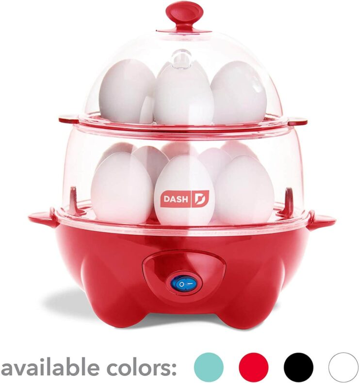 Dash DEC012RD Deluxe Rapid Egg Cooker