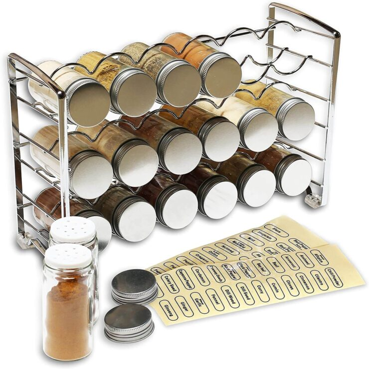 DecoBros Spice Rack Stand Holder