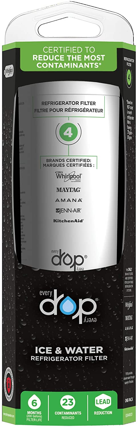 EveryDrop by Whirlpool Refrigerator Water Filter8