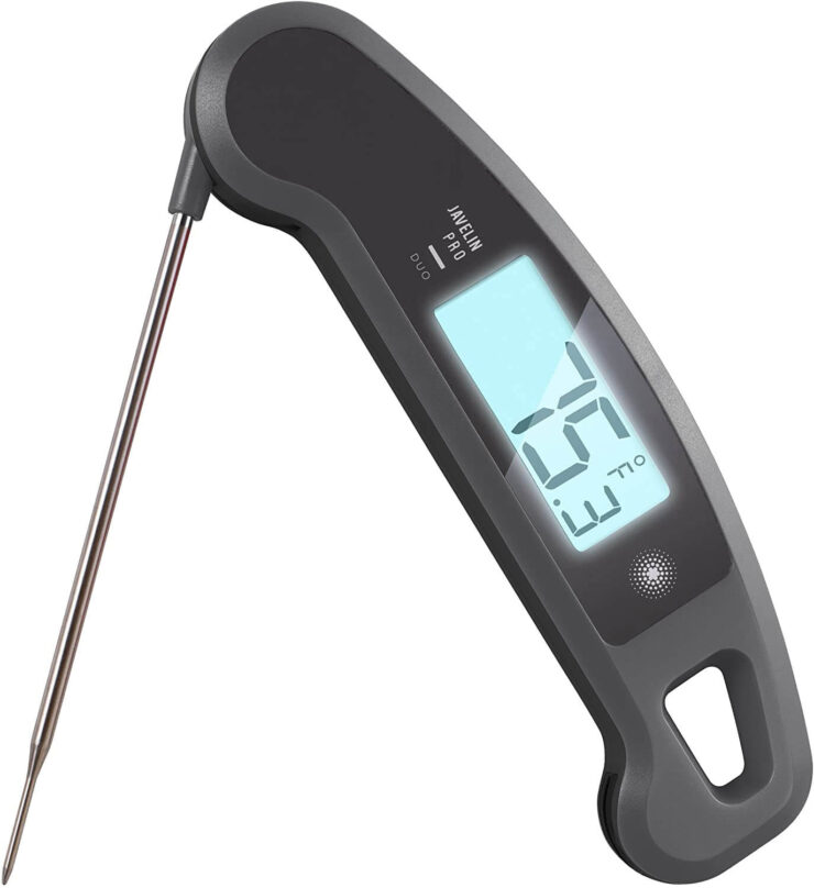 Lavatools Javelin Pro Duo Digital Instant Read Meat Thermometer