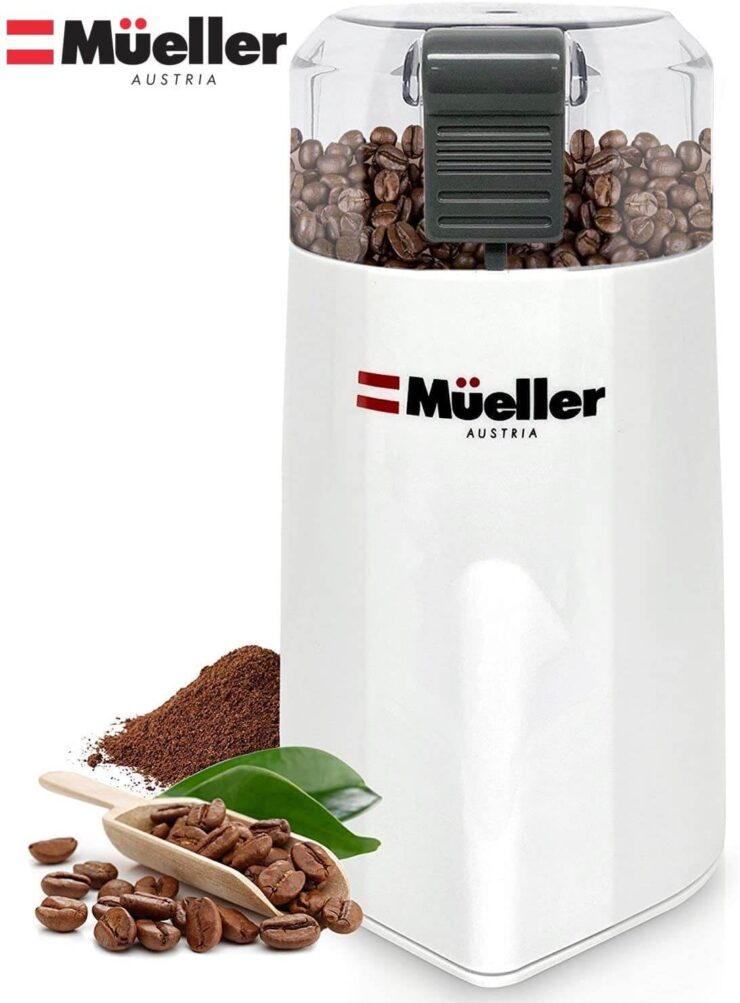 Mueller Austria HyperGrind Precision Electric Spice Coffee Grinder
