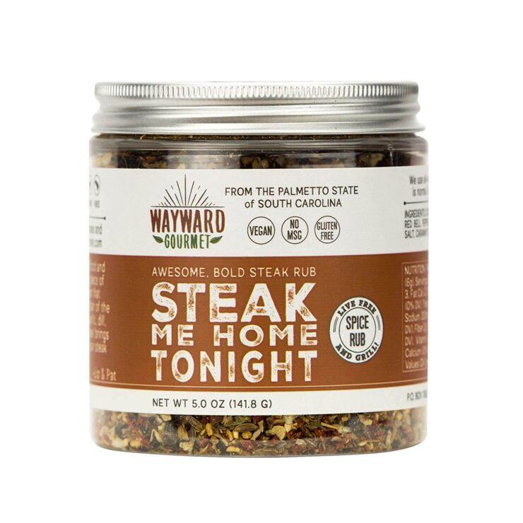 Steak Me Home Tonight Dry Steak Rub by Wayward Gourmet