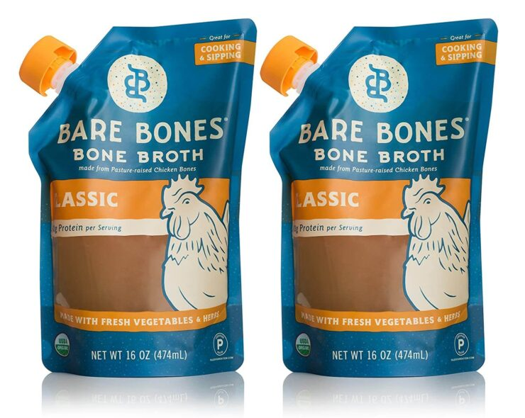 Bare Bones Chicken Bone Broth