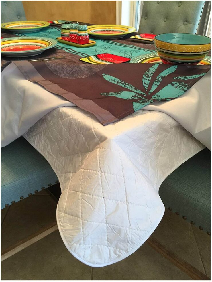 Brilliant Home Design First Quality Quilted Table Protectors