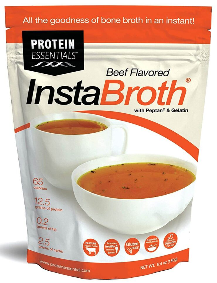 Protein Essentials InstaBroth Bone Broth Powder