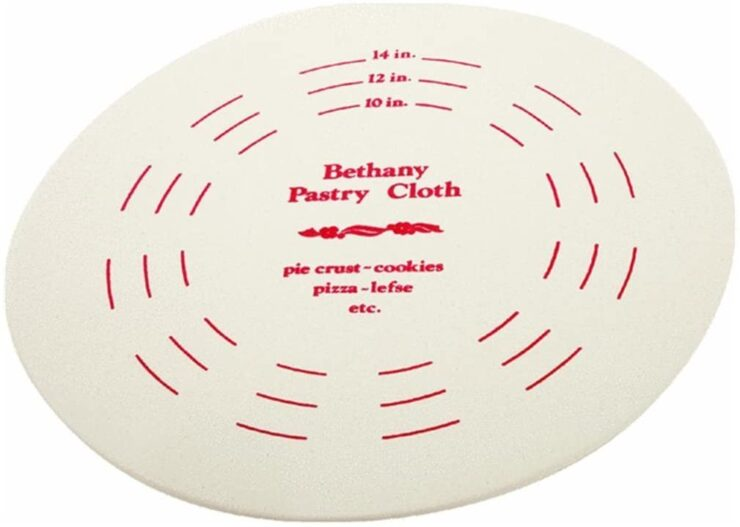 Bethany Housewares 20 Inch Pastry Board and Cloth Set