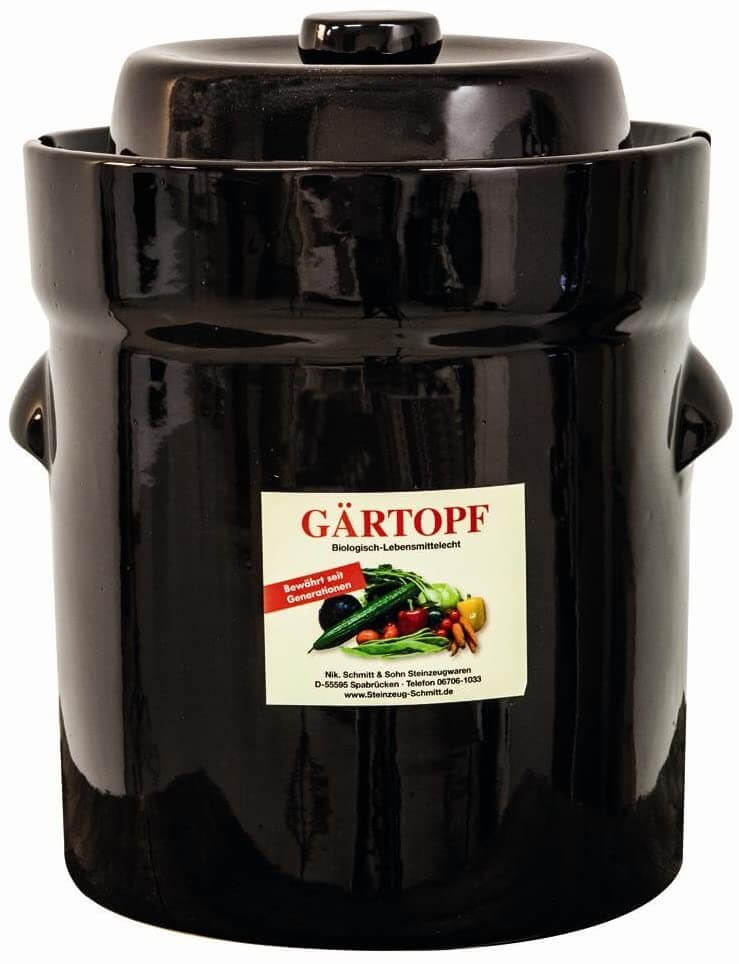 Nik Schmitt Fermenting Crock Pots
