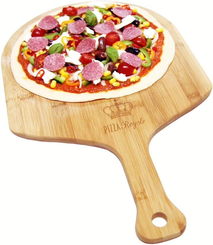 Pizza Royale Premium Natural Bamboo Pizza Peel