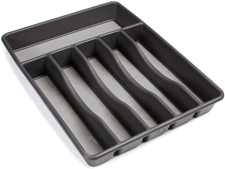 Rubbermaid No-Slip Large, Silverware Tray Organizer
