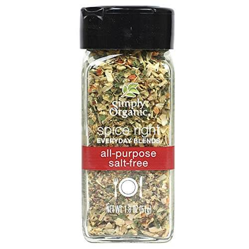 Simply Organic Spice Right Everyday Blends All Purpose Seasoning