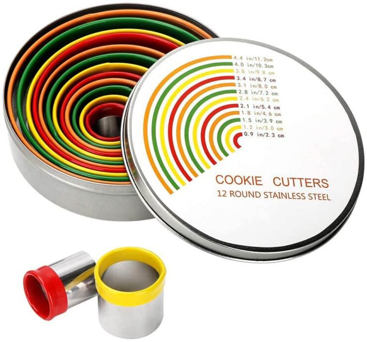 Alimat PluS Round Cookie Biscuit Cutter