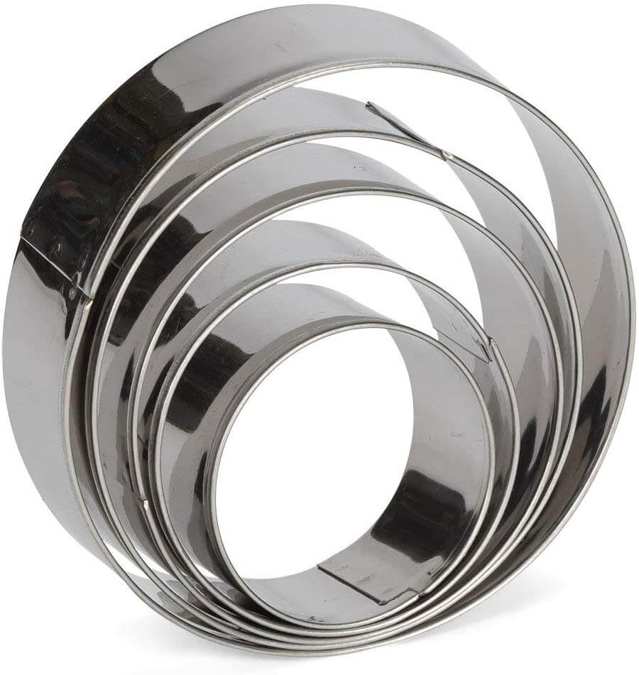 Consio Stainless Steel Round Cookie Cutter