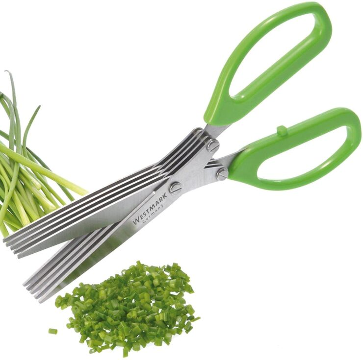 Westmark Germany Stainless Steel 5-Blade Herb Scissors