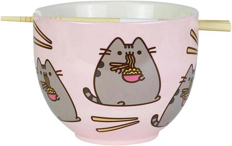 Enesco Pusheen Ramen Bowl Set