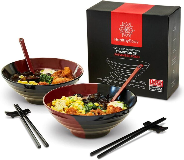 Healthy Body Ramen Bowl Set