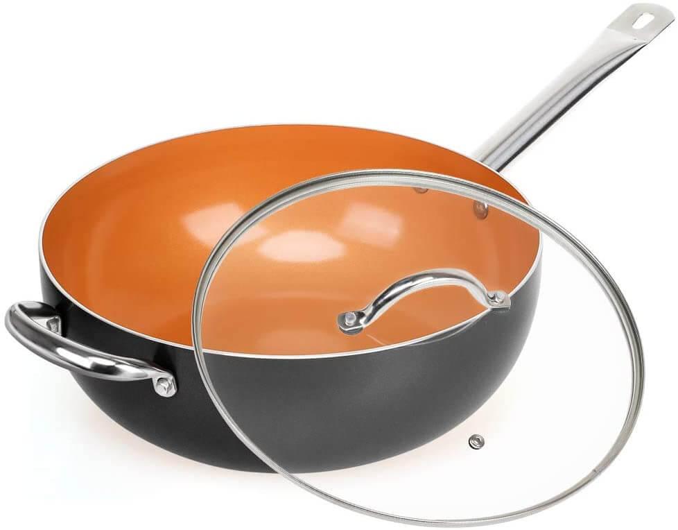 SHINEURI Stir Fry Pan