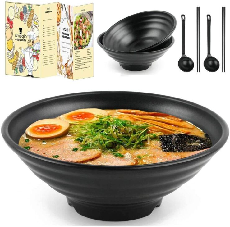 SMOQIO Ramen Bowl Set
