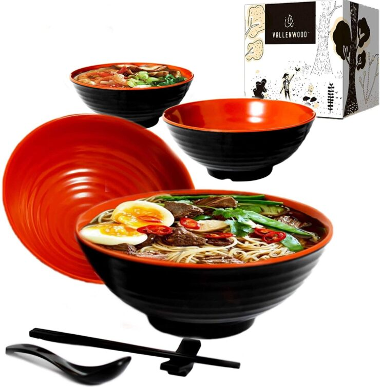Vallenwood Ramen Bowl Set