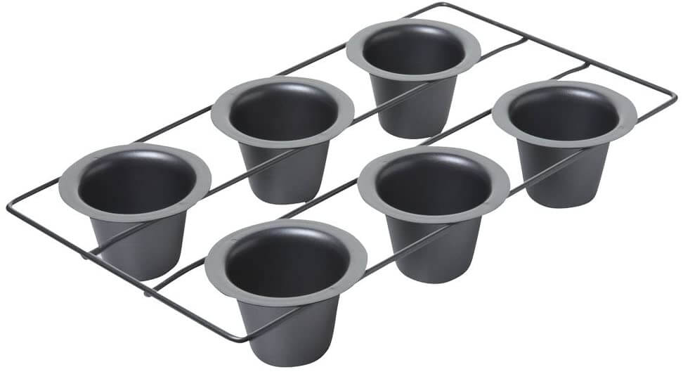 Chicago Metallic 6-Cup Popover Pan
