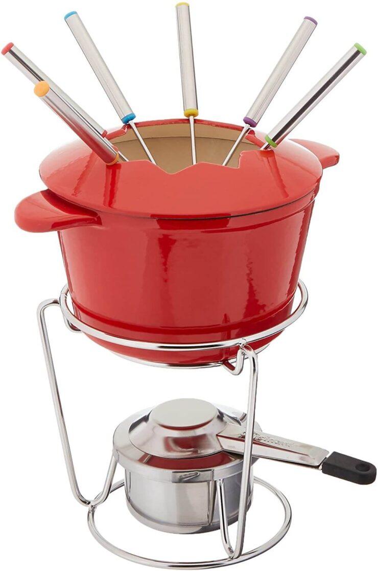 Cuisinart Cast Iron Fondue Set