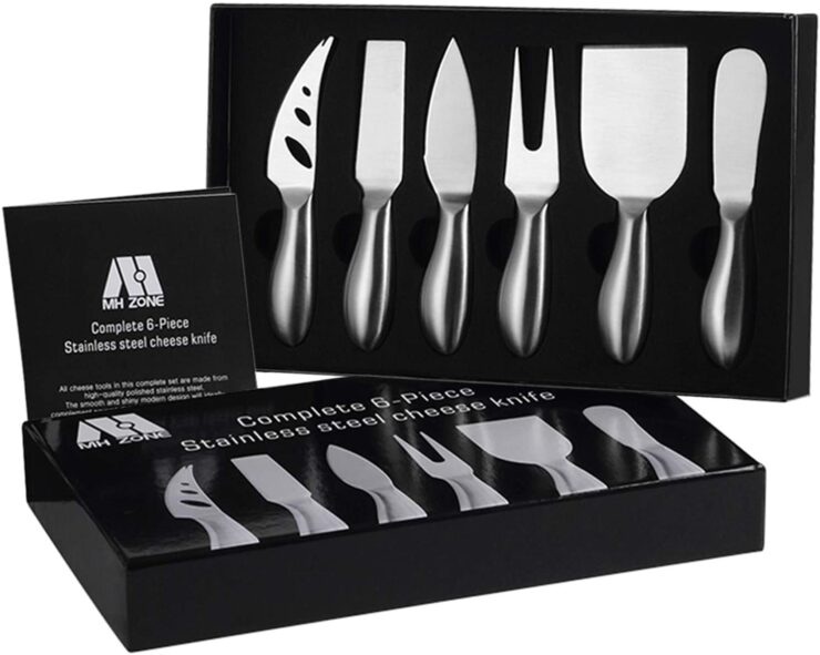 M MH ZONE Premium Cheese Knife Set