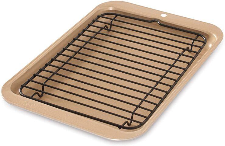 Nordic Ware 42210 Toaster Oven Broiler Pan