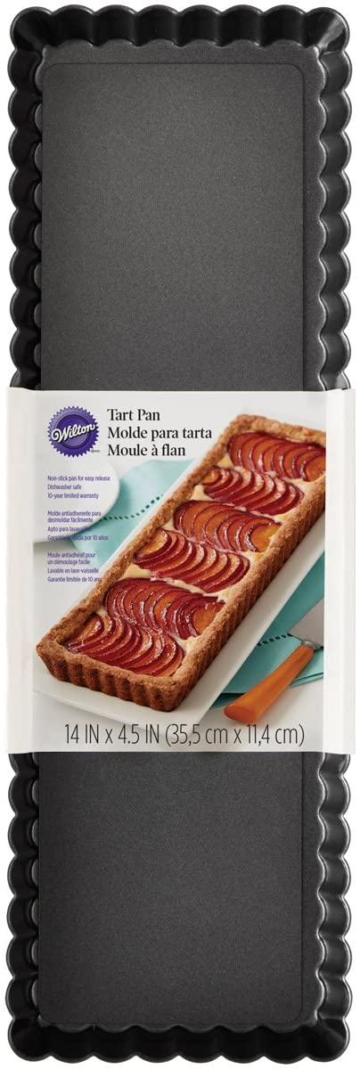 Wilton Extra Long Tart and Quiche Pan